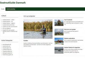 Guidede fisketure i hele Danmark